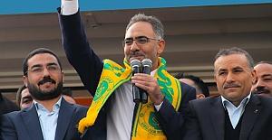 Mehmet Kuş Eyyübiyelilere Teşekkür Etti