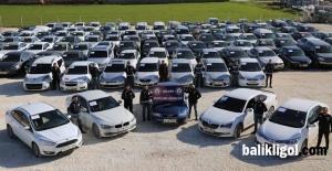 Şanlıurfa'da 120 çalıntı otomobil ele geçirildi