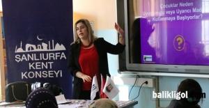 Şanlıurfa Kent Konseyinden velilere madde bağımlılığı farkındalık eğitimi
