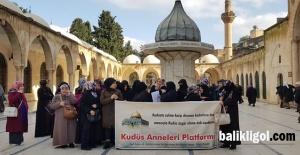 Şanlıurfalı Kudüs Anneleri 54. Kez Eylem Yaptı