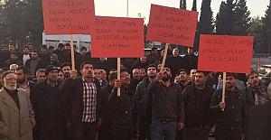 Urfa AK Parti Önünde İlçe Aday...