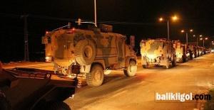 Urfa'da askeri sevkiyat sürüyor