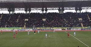 Urfaspor Maraşspor#039;a 1-0 yenildi