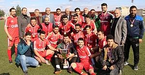 1. Amatör Ligi B Grubu şampiyonu Viranşehir Sanayispor oldu