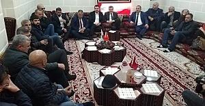 AK Parti Adayı Beyazgül Çalışan Gazeteciler Derneğini Ziyaret Etti