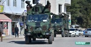 Ceylanpınar Sınırına Askeri Sevkiyat