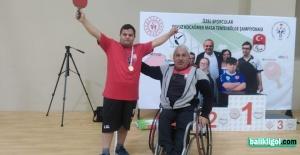 Engelli genç engel tanımadı: Altın madalya alıyor