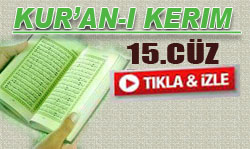 Kur'an'ı Kerim Hatimi 15. Cüz dinle-Kabe İmamları