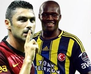 Galatasaray Fenerbahçe derbisinde muhtemel 11'ler