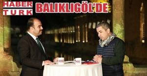 Haber Türk TV Balıklıgöl'de ana haberleri sundu