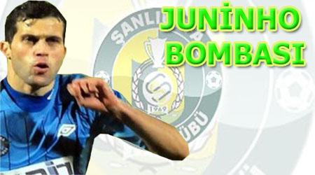 Şanlıurfaspor, Juninho bombasını patlattı