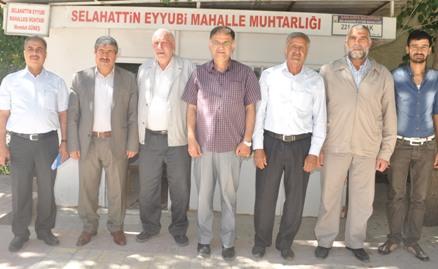 AK Partiden Selahattin Eyyubi ve Sırrın Muhtarlarına ziyaret