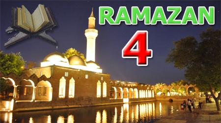 Ramazan sayfası, Kur'anı Kerim Hatimi 4. Cüz