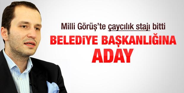 Saadet Partisinin adayı Fatih Erbakan