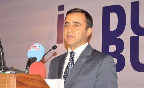 TUSKON Şanlıurfa'da gövde gösterisi yaptı VİDEO