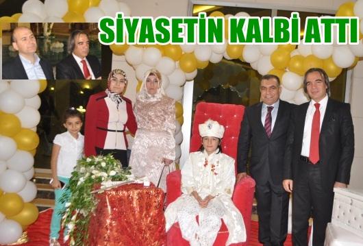 Siyasetçileri buluşturan sünnet düğünü VİDEO