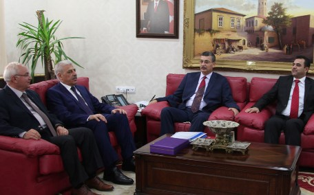 Musul Valisi Nuceyfi Şanlıurfa'da