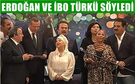 Başbakan Erdoğan, Gönül Dağı türküsünü okudu VİDEO