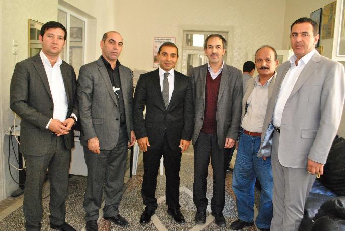 Zahit'ten gazeteci Polat'a ziyaret