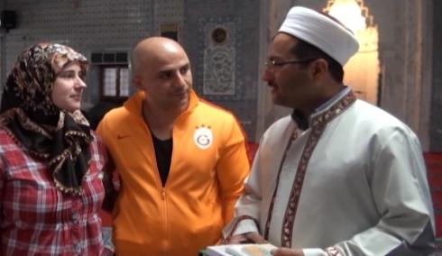 Alman gelin Şanlıurfa'da Müslüman oldu VİDEO