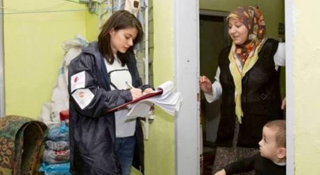 Japonlardan Suriyelilere kış yardımı