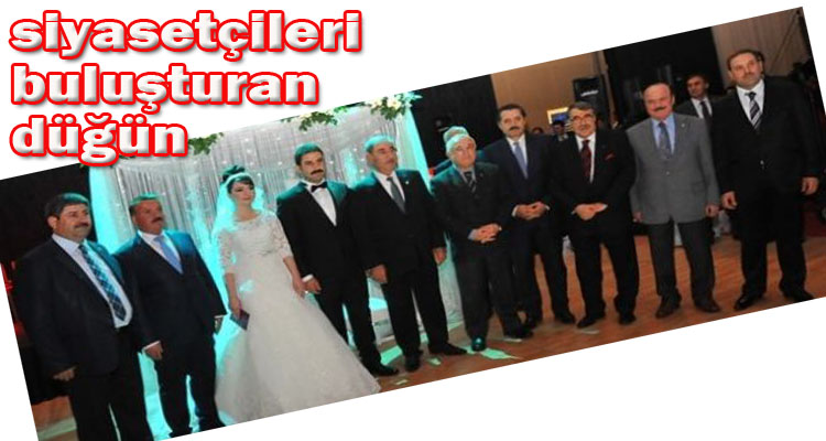 Urfa siyasetçilerini Ankara'da buluşturan düğün VİDEO