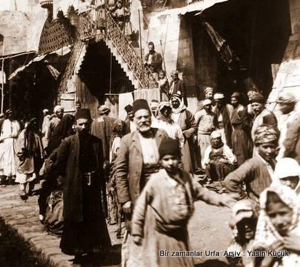 1900 lü Yıllar Urfa Hüseyiniye Çarşıları