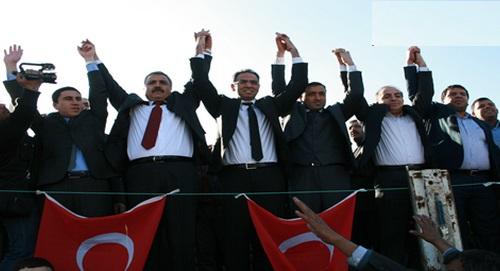AK Parti Eyyübiye ilçesinde adaya tepki mitingi VİDEO