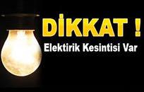 Eyyübiye'nin Tamamında Elektrikler kesilecek