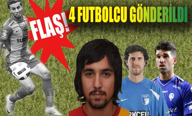 Şanlıurfaspor 4 Futbolcunun Sözleşmesini Feshetti