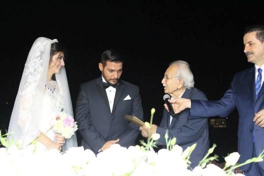 Siyasiler Şimşek'in düğününde buluştu