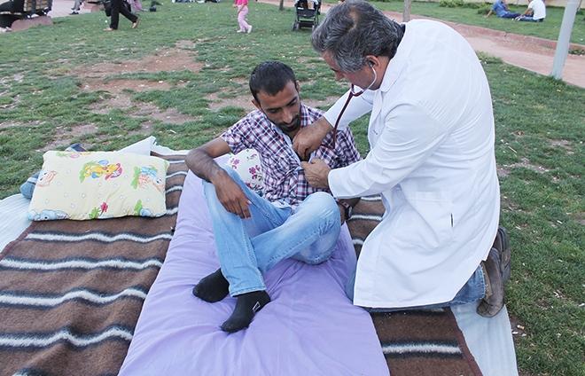 Kürtçe öğretmen adayları sağlık kontrolünden geçti