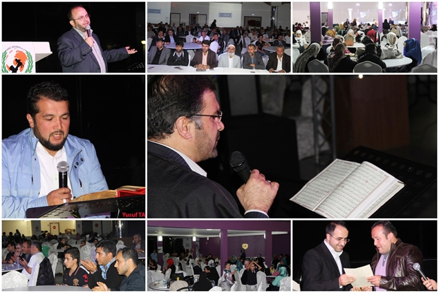 Fransa'da 'Maide-i Kur'an' etkinliği