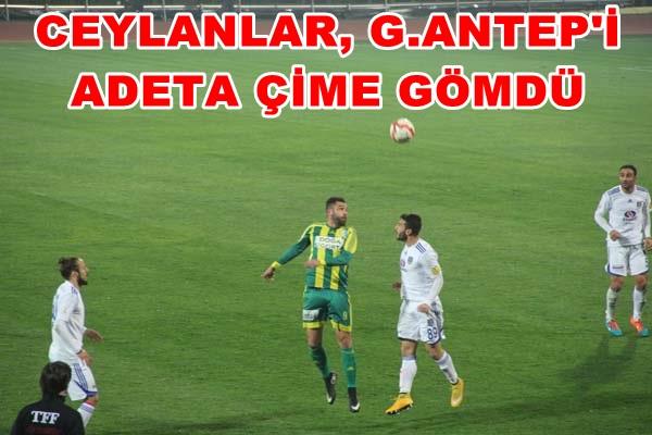 Şanlıurfaspor Gaziantep Büyükşehir Belediyespor: 2-0