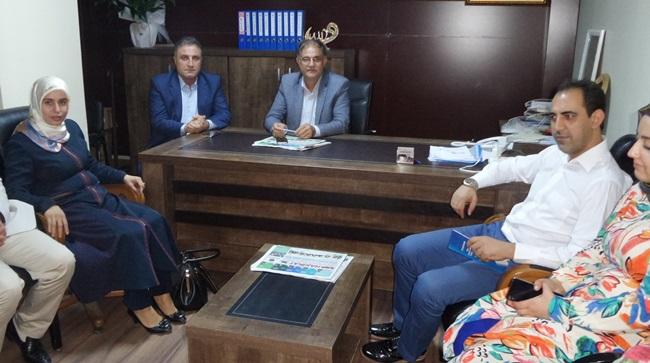 Milletvekili Hamide Sürücü SKM'y ziyaret etti