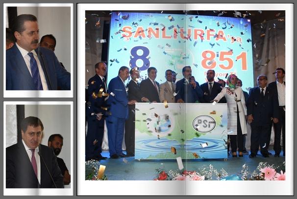 Şanlıurfa'da 8 tesisin temeli törenle atıldı