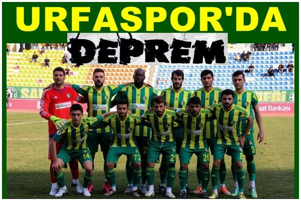 Şanlıurfaspor'da Deprem! Tam 12 Futbolcu…