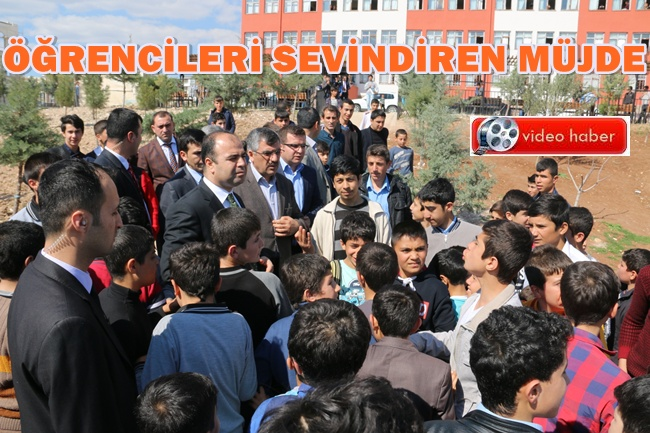 Başkan Çiftçi, Öğrencileri mutlu eden Müjdeyi verdi