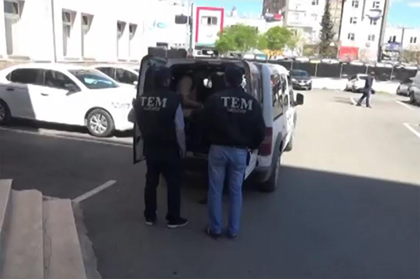 İstanbul'dan Gaziantep'e gelen 2 İŞİD'li tutuklandı