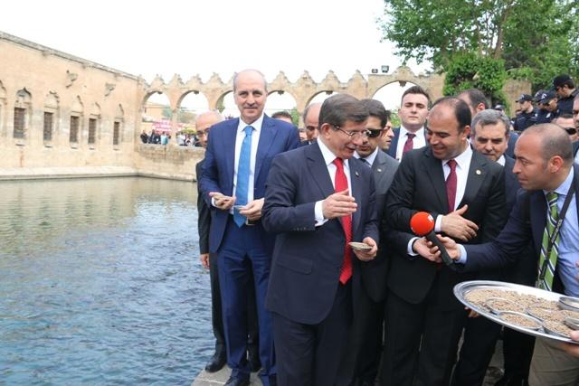 Başbakan Davutoğlu Urfalılara ne dedi?