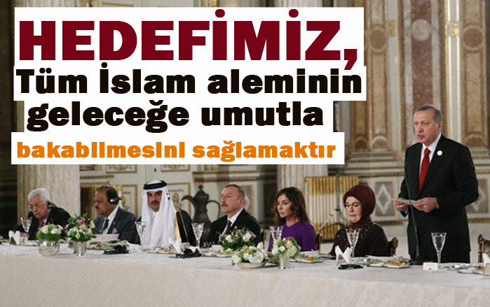 BM'den sonra en büyük uluslararası örgüt olan İslam İşbirliği Teşkilatıdır