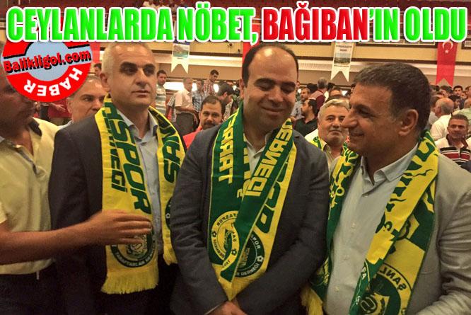 Şanlıurfaspor yeni başkanı İsmail Bağıban seçildi