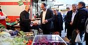 Bakkallar Odası Başkanı Mehmet Altun'a hayırlı olsun ziyareti