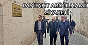 Şanlıurfa Kent Konseyine Payitaht Abdülhamid ziyareti