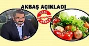 Faruk Akbaş: Vatandaşın Ucuz Sebze Meyve Yemesi Hayal!