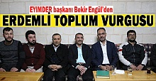 AK Parti Adayı Mehmet Kuş, EYİMDERİ Ziyaret etti
