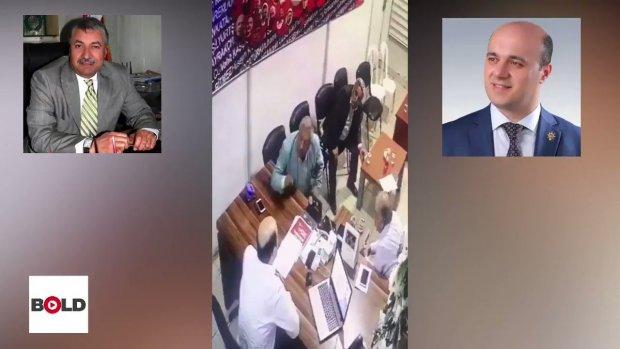 Birecik Belediye Başkanı Faruk Pınarbaşı, AK Parti İlçe Başkanı Mehmet Özbakan'a Silah Çekti