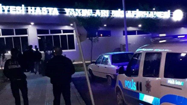Harran Üniversitesi Hastanesi Misafirhanesinde Hırsızlık