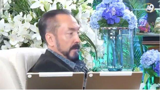 Adnan Oktar Ahmet Eşref Fakıbaba'nın veli olduğunu söyledi