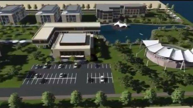 Harran Üniversitesi Birecik Kampüsü bu şekilde olacak
